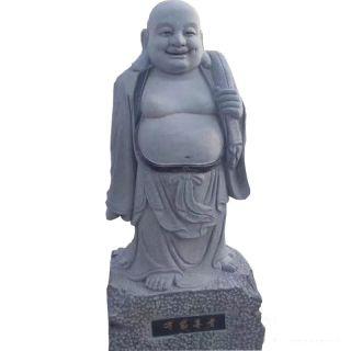 布袋罗汉像_花岗岩石雕佛像