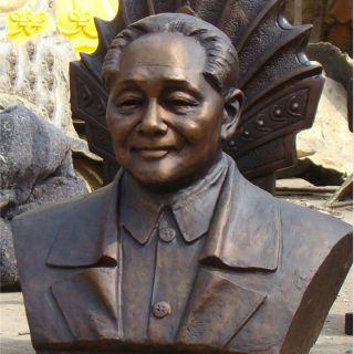 近代伟人邓小平半身胸像