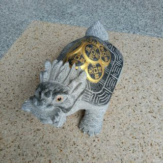 背驮铜钱的龙龟