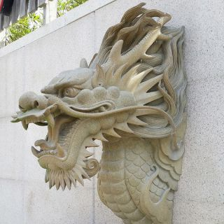 喷水龙头_园林铜雕装饰构件