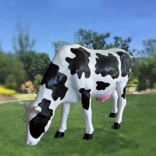 玻璃钢仿真奶牛