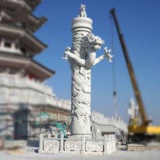 华表石雕_城市景观建设柱子