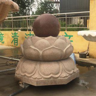 风水球石雕_公园景观石雕