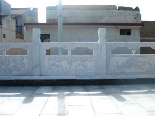 花岗岩雕花石雕栏板