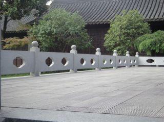 花岗岩石栏板_城市公园广场围栏