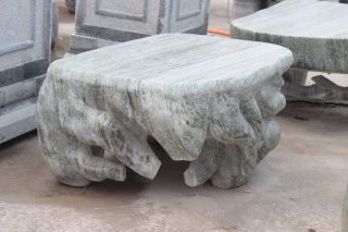 异形石桌_大理石艺术石桌