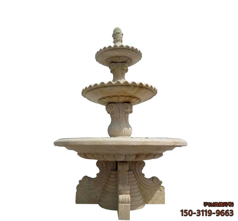 喷泉石雕_景点小区喷泉景观