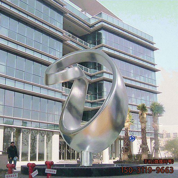 广场不锈钢景观雕塑
