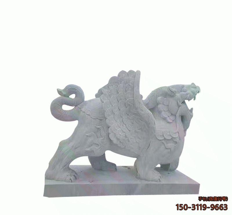 石雕貔貅_广场动物貔貅雕塑