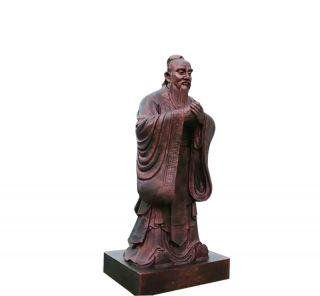 孔子像_校园古代伟人塑像
