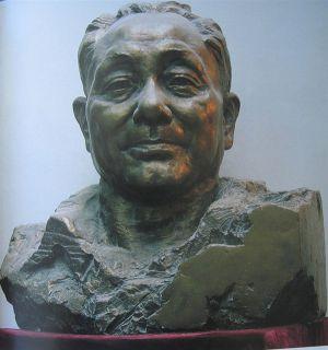 邓小平头像_当代伟人艺术雕像