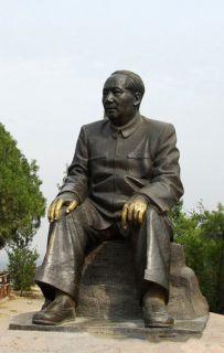 毛主席城市广场铸铜雕像
