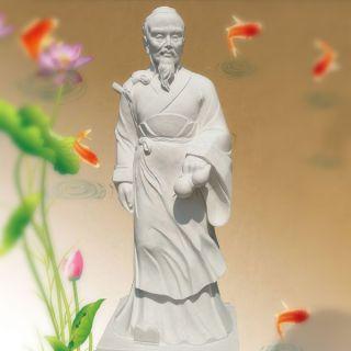 大理石华佗雕像
