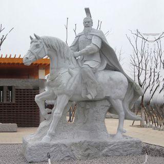 汉高祖刘邦石雕像