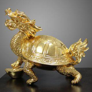 龙龟铜雕_企业招财神兽铜雕