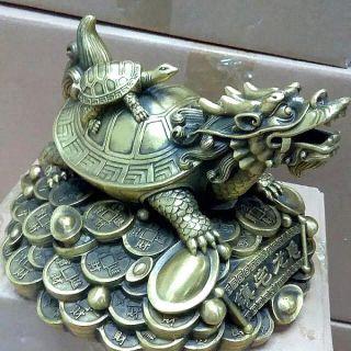 招财龙龟_企业动物铜雕摆件