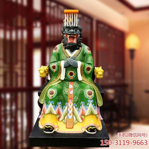 东西南北海龙王塑像