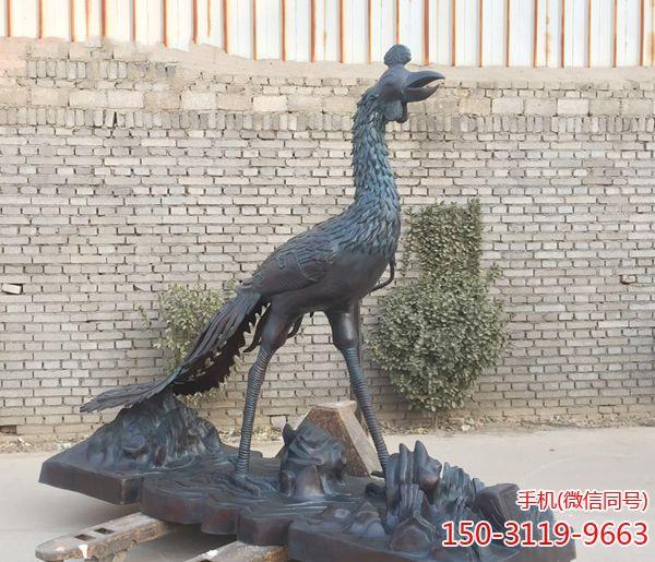 安顺小区抽象不锈钢凤凰雕塑批发价行情-玉海雕塑生产小区抽象不锈钢凤凰雕塑经销商多少钱?