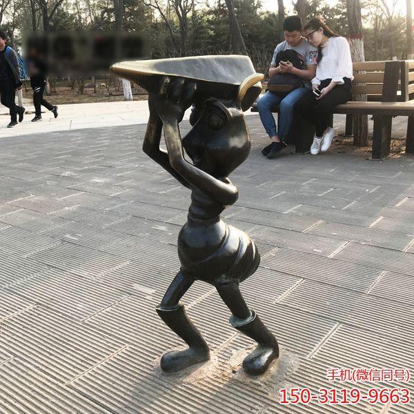 蚂蚁铜雕_城市园林景观摆件卡通蚂蚁雕塑 (3)