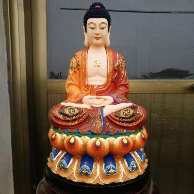 如来佛祖雕塑_寺庙祭祀佛像厂家定制