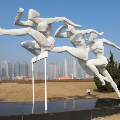 《奔跑》体育公园运动人物系列雕塑