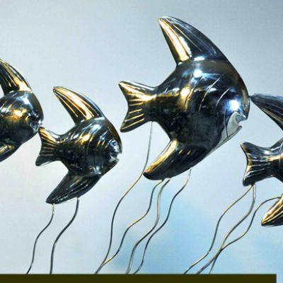 镜面不锈钢鱼