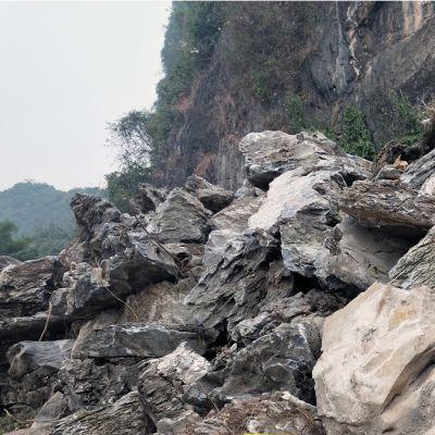 自然奇石假山石