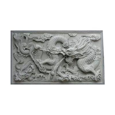 龙纹高浮雕
