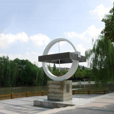 法制雕塑不锈钢方圆