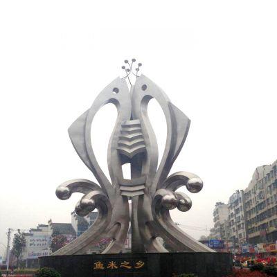 鱼米之乡雕塑