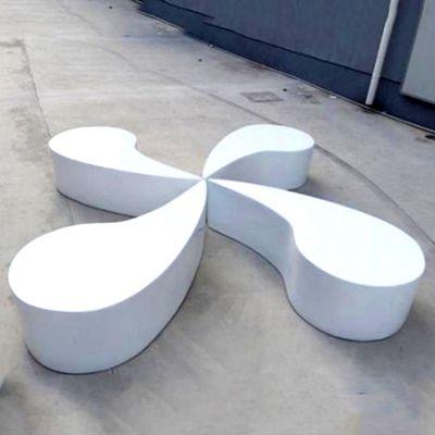 玻璃钢抽象商场凳子