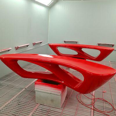 商场玻璃钢抽象凳子
