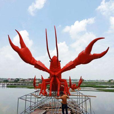 临海龙虾大雕塑