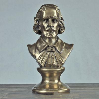 莎士比亚铜雕胸像