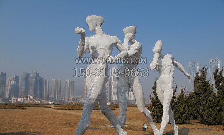 不锈钢景观艺术雕塑