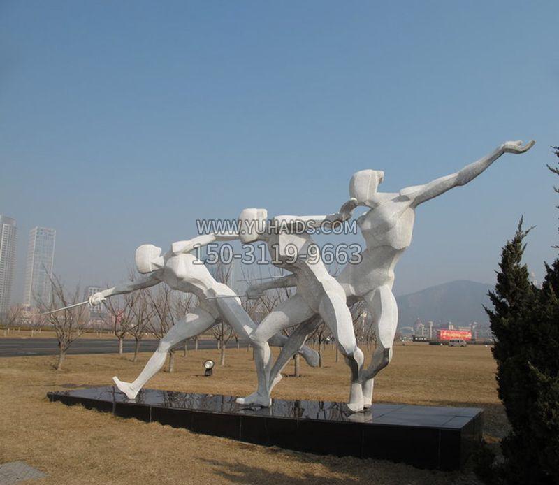 不锈钢火之光雕塑