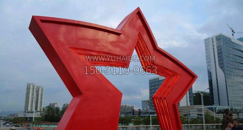 不锈钢未来之星广场雕塑