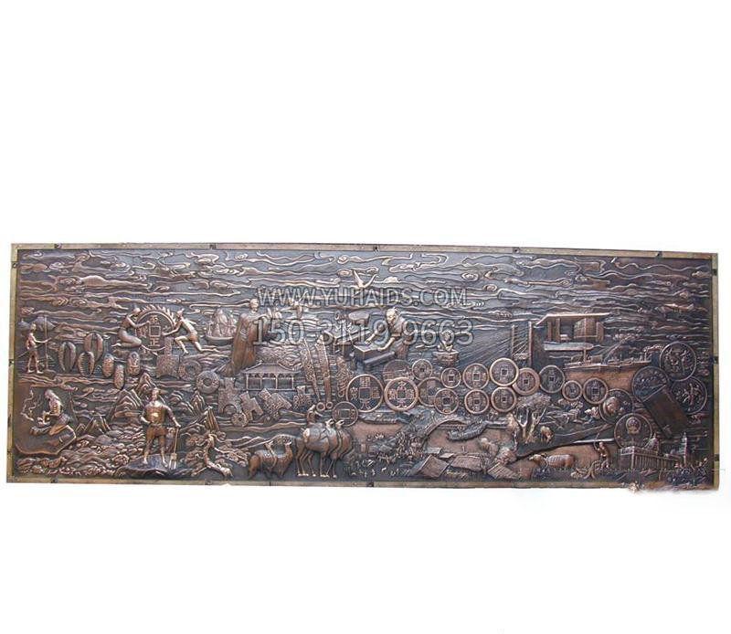 古代名人商鞅胸像铜雕