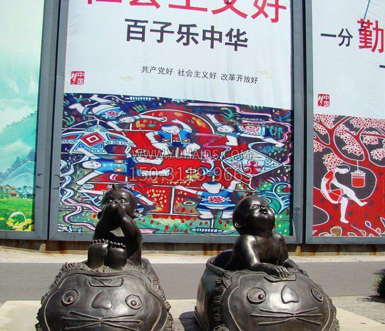 公园景观汉白玉仕女石雕
