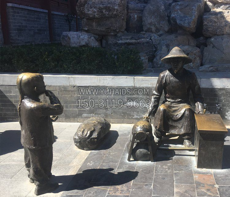 爱因斯坦胸像校园名人铜雕