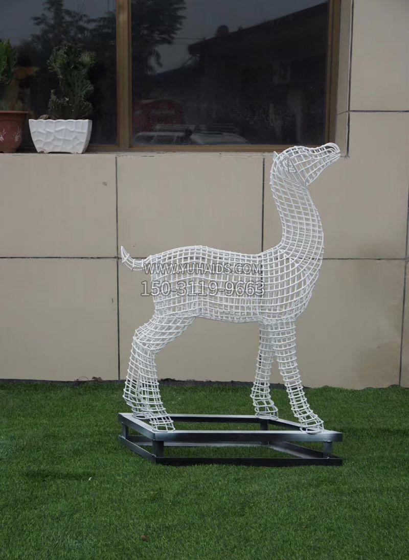 不锈钢艺术凤凰雕塑