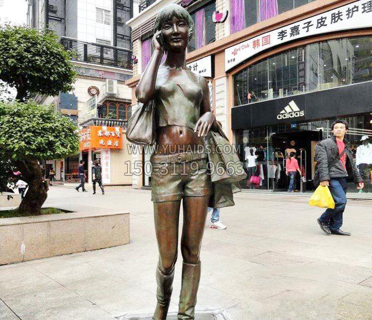 纯铜关公铜像