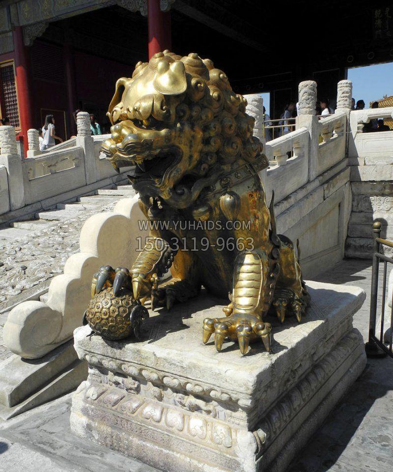 关帝庙关公神像-寺庙景点历史文化名人铜雕