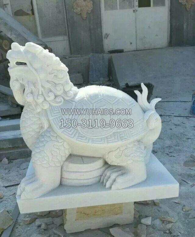 汉白玉故宫狮子石雕