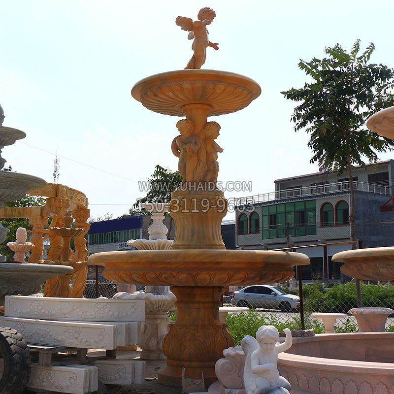 景区广场不锈钢地球仪水景喷泉景观雕塑