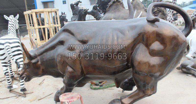 牧童骑牛人物铜雕