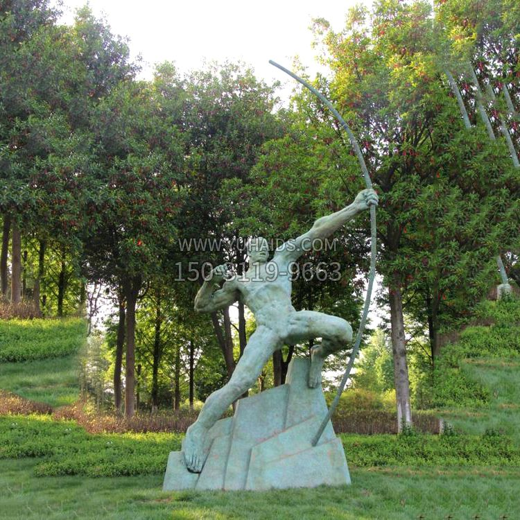 少数民族女人青铜人物铜雕