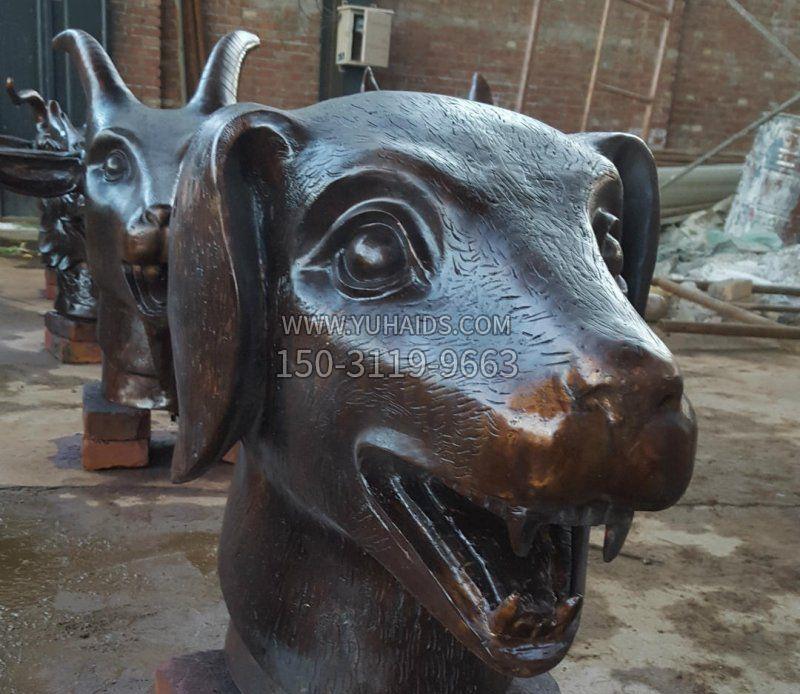 铜雕户外牧童骑牛雕塑摆件
