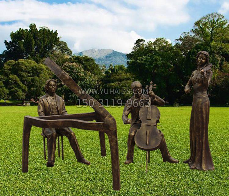学校不锈钢五环雕塑