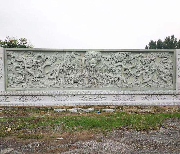 园林景观大理石狮子石雕